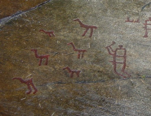 Rock carvings in tanum